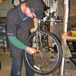 Don working on your wheel