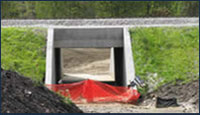 New underpass for Towpath in Barberton