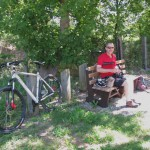 Lunch stop under a shady tree