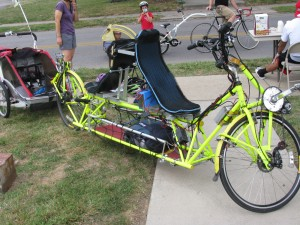 Home built tandem recumbent-stoker and captain