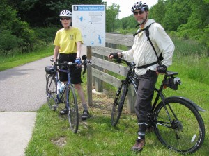 Don & Ruth on the Maple Highlands Trail