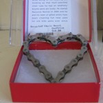 Recycled Chain Heart