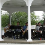 The Swingin' 78's at the 2013 lunch concert