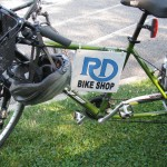 Team R-D Bike Shop service vehicle