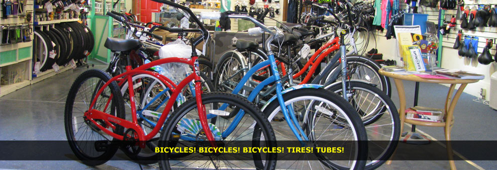 bicycles, tires, tubes