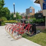 Bike Share at the Richard Howe House