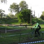 Ruth in her first cyclocross race in October 2016. She is planning on riding when she is 105